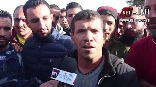 بومرداس :  مواطنو رأس جنات يحتجون ويطالبون بالتوظيف