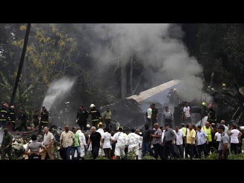 Flugzeugabsturz in Kuba: Es überleben nur drei Men ...