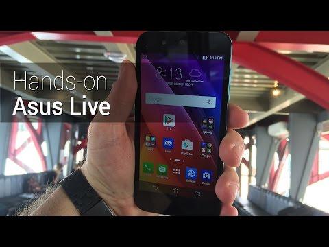 Hands-on: Asus Live | Tudocelular.com
