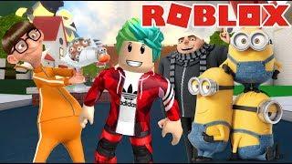 Aventuras con los Minions | Escape de los Minions | Juegos Roblox Karim Juega