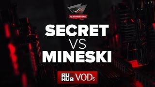 Secret vs Mineski, ROG Masters , game 2 [Maelstorm, LightOfHeaveN]