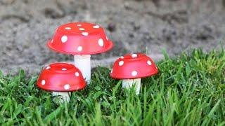 Mushroom Decor ♥ DIY - YouTube