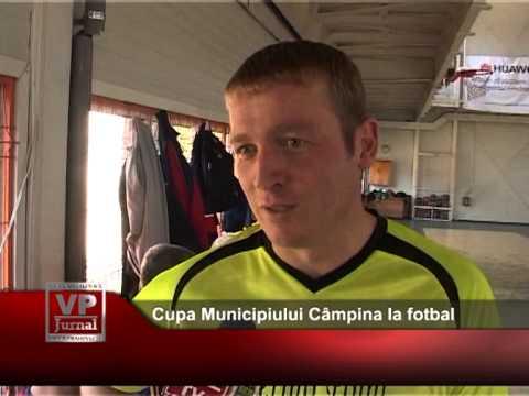 Cupa Municipiului Câmpina la fotbal