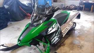 8. 2012 Arctic Cat XF 1100 Sno Pro - Full Consumer Review - Part 1