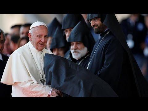 Πάπας Φραγκίσκος: «Γενοκτονία» η σφαγή των Αρμενίων