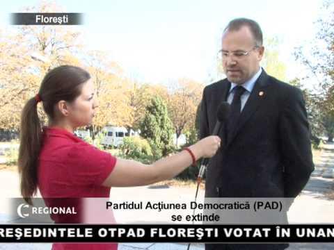 Partidul Acţiunea Democratică (PAD) se extinde