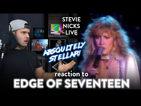 Stevie Nicks Reaction Edge of Seventeen LIVE! (YES! A FAV!!!) | Dereck Reacts