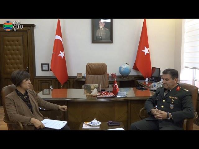 Milli Savunma Bakanlığı Harita Genel Komutanlığı Tuğgeneral Osman Alp'in Röportajı