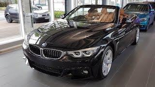 """Hello and welcome to BMW.view. In this video we review the interior and exterior of the 2017 BMW 420i Cabrio Modell M Sport. Produced in 4K. Facebook: https://www.facebook.com/pages/BMWview/860051290681663?ref=hlsubscribe -[BMW.view]- here: https://www.youtube.com/channel/UCuZoR8ZNgfPKBaPMPryyD1gMotor/engine: 135 KW/1998 ccmLackierung: Saphirschwarz metallicPolster: Leder Dakota Congac/Akzent Braun (SW)Felgen: 18"""" M Leichtmetallräder Sternspeiche 400 M Licht: Adaptiver LED-ScheinwerferGrundpreis: 46.100 ,00 EURPakete: 14.200,00 EURSonderausstattung: 5.420,00 EURTronsportkosten: 750,00 EURGesamtpreis = 66.475,00 EURPakete: Modell M Sport, M Sportpaket, Innovationspaket, open-Air Paket, BusinessPackage i.v.m. Navigationspaket ConnectedDrive, Sonderausstattung"""