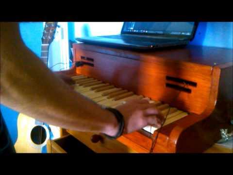 DIY keyboard glockenspiel test 3