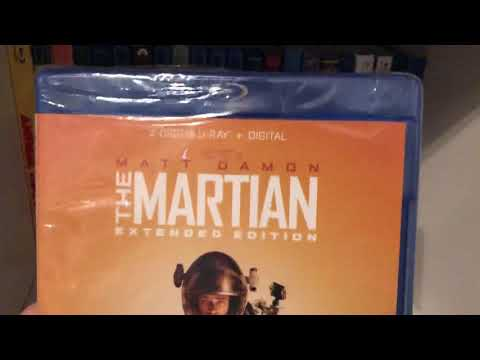 The Martian (2015) (extended edition) Blu-ray unboxing