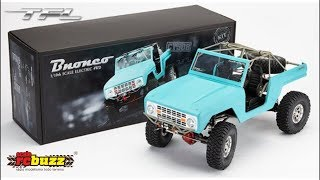 TFL T-10 Bronco Kit Unboxing & Build by scaleRCBuzz