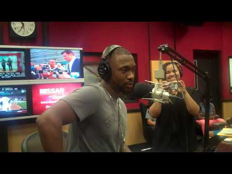 Comedian Jay Pharoah interviews on the Tom Joyner Morning Show
