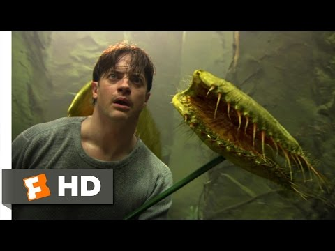 Journey to the Center of the Earth (7/10) Movie CLIP - Large Carnivorous Plant (2008) HD