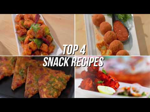 4 way snack recipes