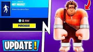 *NEW* Fortnite Update! | How to Get FREE Emote & Wreck It Ralph Event!