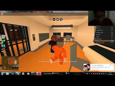 jogando roblox: jogando jail break com meu amigo