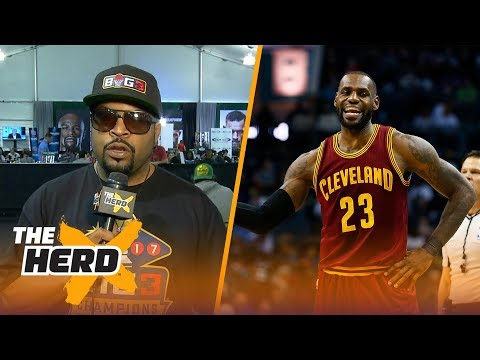Ice Cube talks LeBron James to Los Angeles rumors, predicts Mayweather vs. McGregor | THE HERD