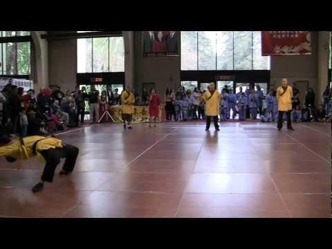 YanYi Shi Shaolin Kung Fu at Asian American Expo, Pomona Fairplex, Jan 14th 2012 (b)