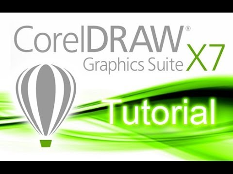 CorelDRAW X7 - Tutorial for Beginners [+General Overview]