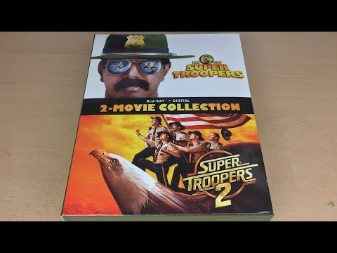 Super Troopers 2-Movie Collection - Blu-ray Unboxing