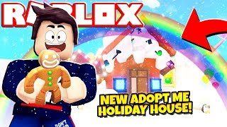 *FREE!* NEW HOLIDAY HOUSE UPDATE in Adopt Me! NEW Adopt Me Holiday House Update (Roblox)