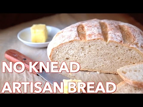 Bread Recipes: No Knead Artisan Bread – Natashas Kitchen
