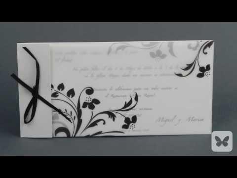 Claves para elegir las invitaciones de boda