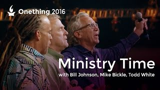 Video Ministry Time with Bill Johnson, Mike Bickle and Todd White (Onething 2016) MP3, 3GP, MP4, WEBM, AVI, FLV Mei 2018
