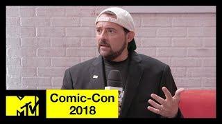Video Kevin Smith on His Heart Attack, Avengers 4 & the DC Universe | Comic-Con 2018 | MTV MP3, 3GP, MP4, WEBM, AVI, FLV April 2019