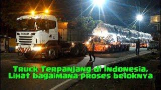 Video Truck Terpanjang di Indonesia. Lihat Bagaimana Proses Beloknya MP3, 3GP, MP4, WEBM, AVI, FLV Juni 2019