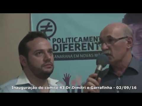 Inauguração  do Comitê 43  em Canarana - MT - 02-09-16