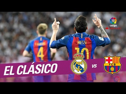 El Clásico - Gol de Messi (1-1) Real Madrid vs FC Barcelona (видео)