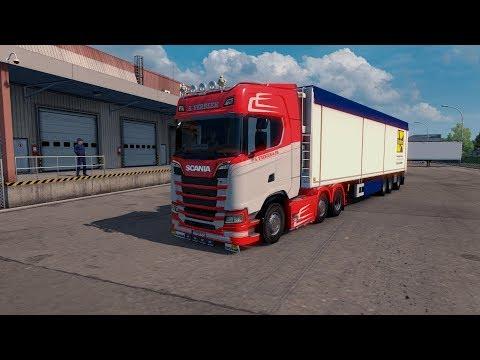 Scania S Verbeek Skin v0.91