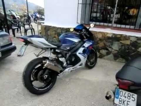 SUZUKI GSXR 1000 2006 WITH YOSHI WALK AROUND AND EXHAUST NOTE SWEET BIKE.AVI