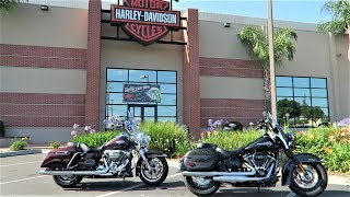 3. 2018 Road King vs 2018 Heritage Classic Show-Down│ How they Match-up