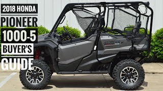 4. 2018 Honda Pioneer 1000-5 Model Lineup Explained / Differences | UTV / Side by Side Buyer's Guide
