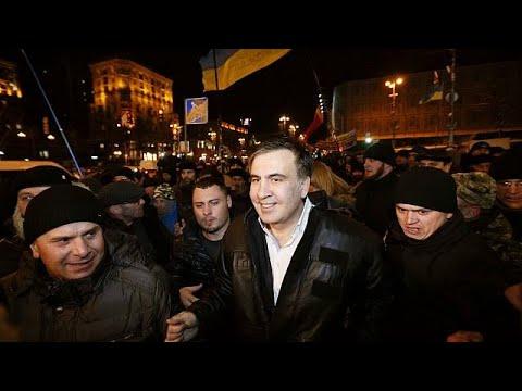 Ελεύθερος αφέθηκε ο Μιχαήλ Σαακασβίλι