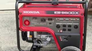 6. Honda EB6500X Generator Video