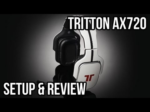 ax720 - A detailed review of the Tritton AX720 headset. With a $130 Price tag and Dolby Headphone virtual 5.1 surround sound, how does the AX720 stack against the co...