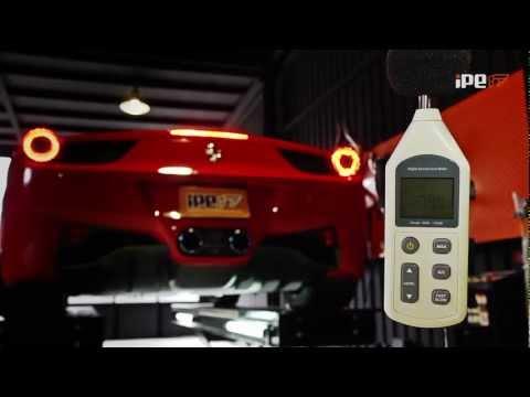 フェラーリ 458イタリア 用 iPE 可変バルブマフラー