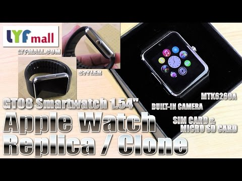 , title : 'Apple Watch ⌚ alternative? (Hands-on/Unboxing) GT08 Smartwatch, Cam, SIM & MicroSD'