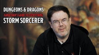 The Storm Sorcerer is in D&D's 'Xanathar's Guide To Everything'
