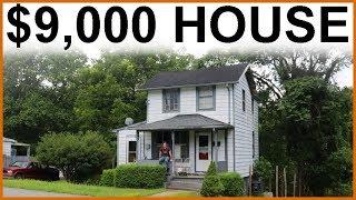 $9,000 CASH HOUSE  ($150K Value)  Renovation Day 1