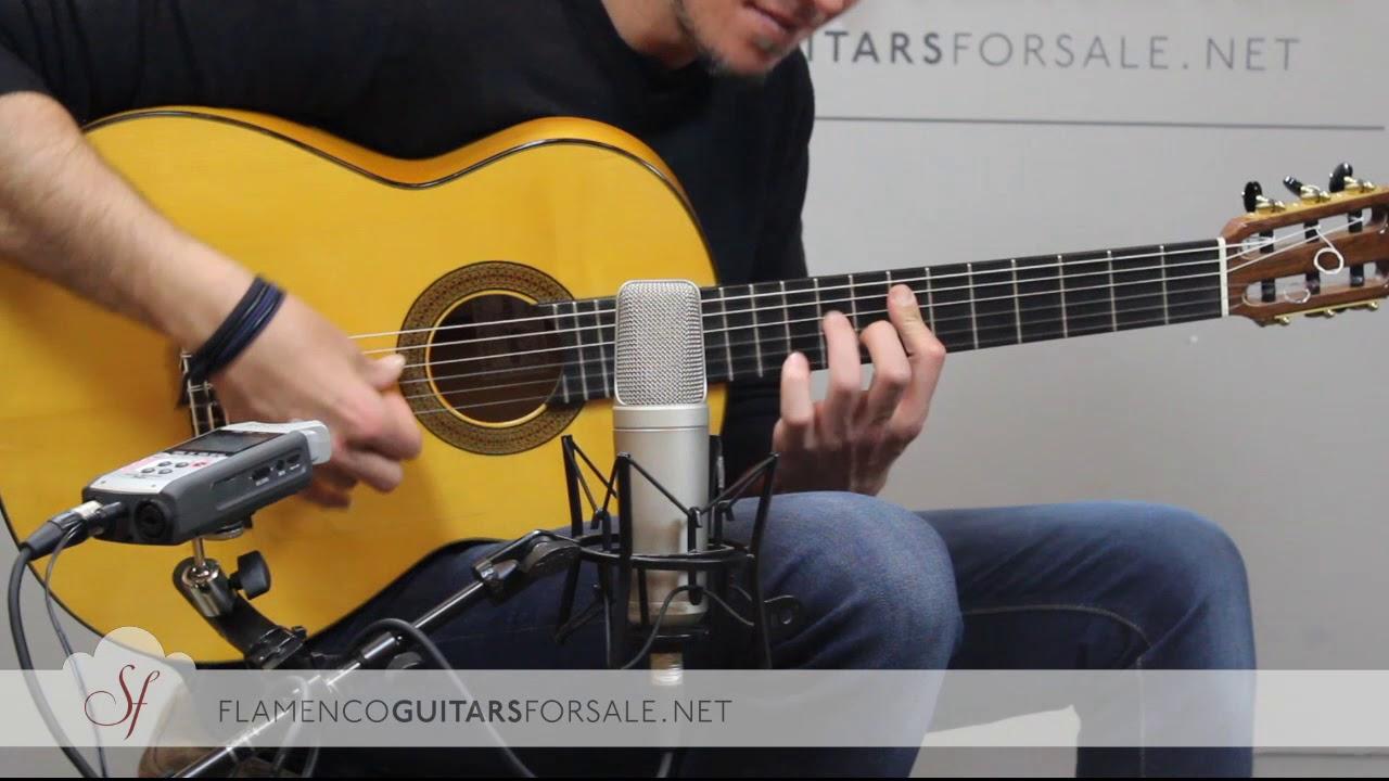 VIDEO TEST: Francisco Sánchez 2015 flamenco guitar for sale