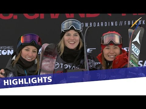 Cassie Sharpe grabs victory and WC leadership in SHP at Snowmass| Highlights