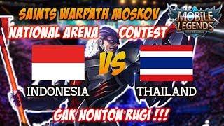 Video AJIB !!! Saints Warpath Moskov Terbaik di Dunia Indonesia vs Thailand - 30082017 National Contest MP3, 3GP, MP4, WEBM, AVI, FLV November 2017