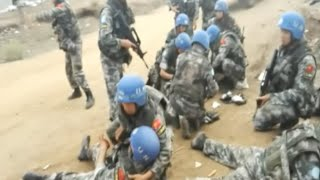 A UN peacekeeper from China was killed and six others were injured when the armored vehicle carrying them was hit by a shell during a mission in Juba, capita...