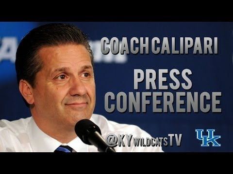 State - Kentucky head coach John Calipari holds a press conference to preview the upcoming game against Boise State. - Twitter- @KYwildcatsTV https://twitter.com/KYw...