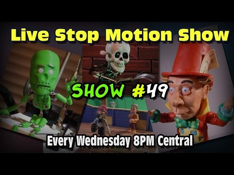 Live Stop Motion Chat Show: January 27th, 2015